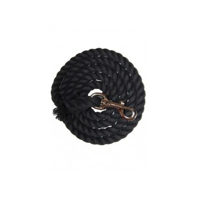 Black Cotton Lead Rope|Animal Farmacy