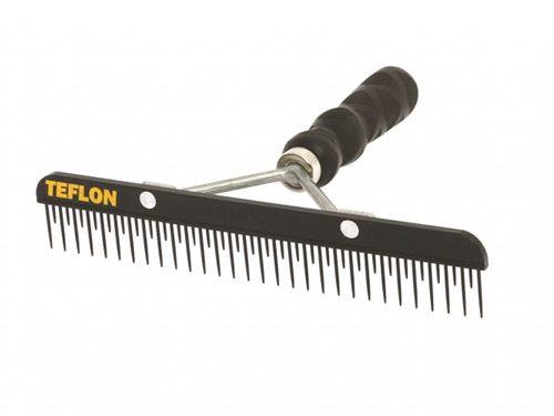 Teflon Fluffer Comb|Animal Farmacy