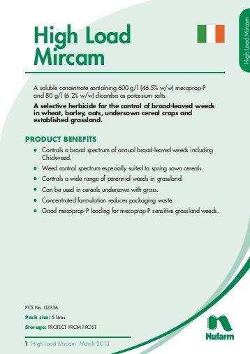 High Load Mircam|Animal Farmacy