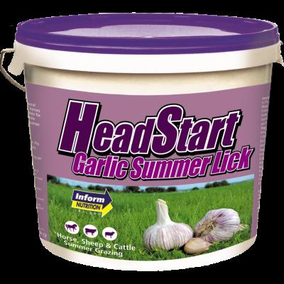 Headstart Garlic Lick|Animal Farmacy