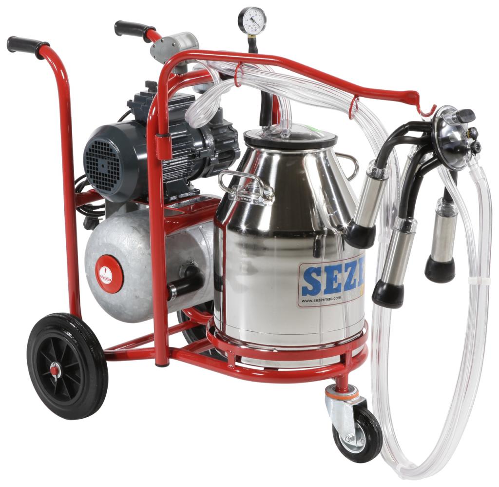 Single Cluster Milking Machine Animal Farmacy