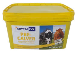 Crystalyx Pre Calver|Animal Farmacy