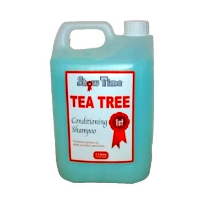 showtime tea tree oil shampoo